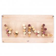 Porta rolha wine - wood