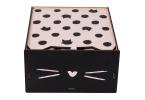 Caixa de maquiagem espelho  - gatinha