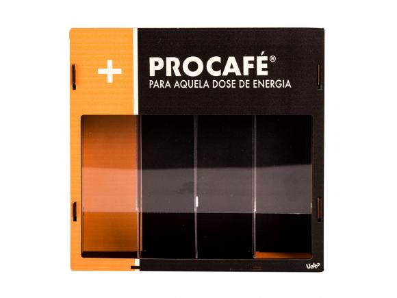 Porta capsula de cafe - pro cafe