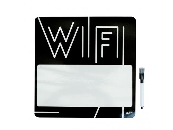 Ima de notas com marcador - senha wifi