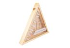 Porta rolhas shape triângulo - vinhos